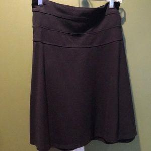 Athleta black mini skirt. Sz 16